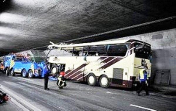 Accident d'un car belge en Suisse : 28 morts dont 22 enfants deux ans   et trois jour déjà
