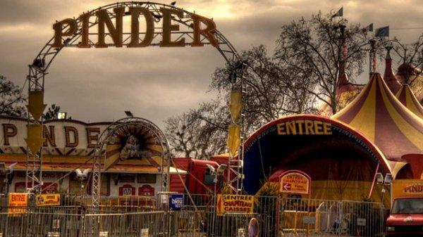 Cirque PINDER , jusqu'au 24 janvier 2016 - Pelouse de Reuilly