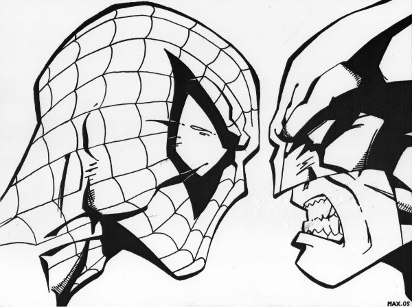 Spiderman vs wolverine album dessin on ligne onemax57 - Coloriage spiderman 1 ...