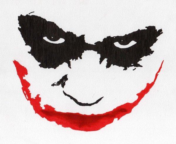 Joker Heath Ledger Album Dessin On Ligne Onemax57
