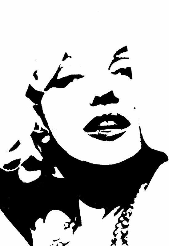 marilyn monroe album dessin onligne onemax57