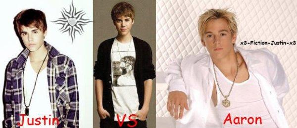 • Justin VS Aaron •