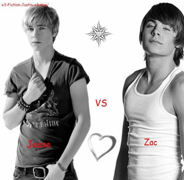 • Jesse VS Zac •