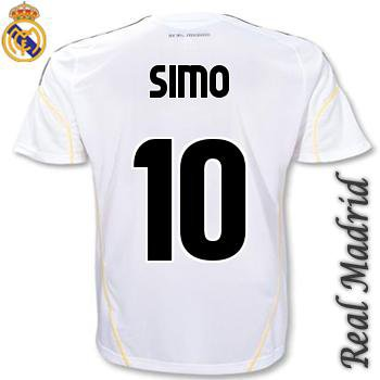 mon maillot de real madrid