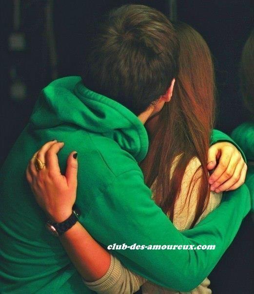 J'ai tellement envie que te serrer dans mes bras, ne plus te lâcher & rester avec toi à jamais ! ♥__♥