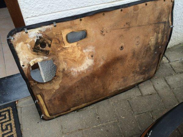 Changements des panneaux de portes