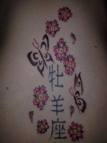 Mon tatouage sur le dos ;)