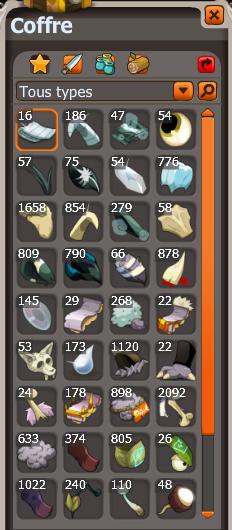 Nouveaux items !