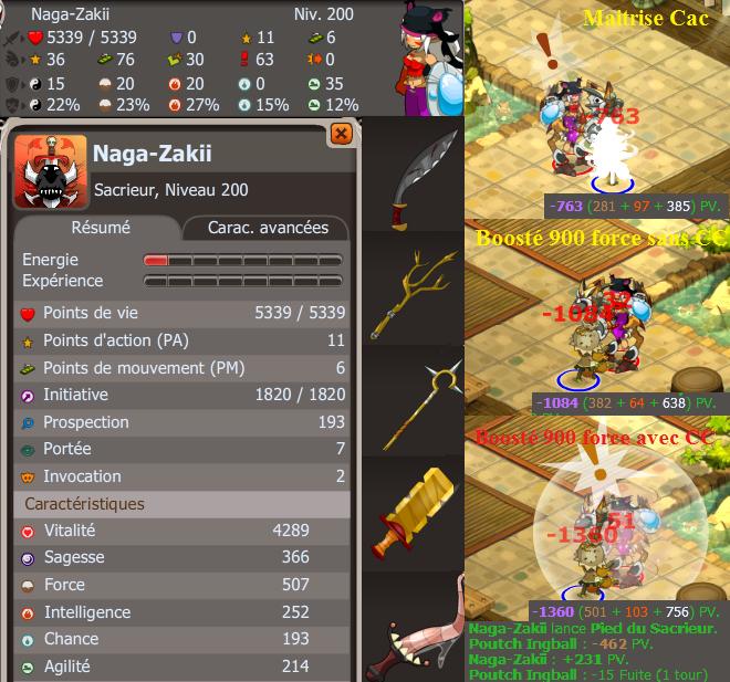 Nouveau Stuff pvp et pvm pour Naga-Zakii