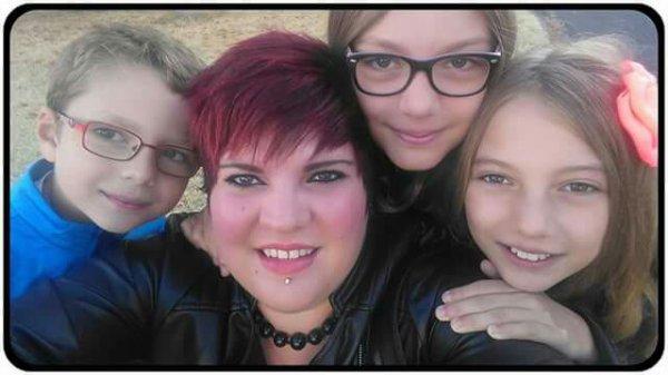 Moi et mes 3 enfants