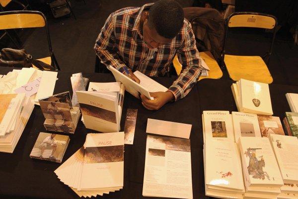 Abdallah Jfreed au salon du livre