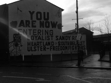 Ulster Freedom Fighters UFF Wall Sandy Row