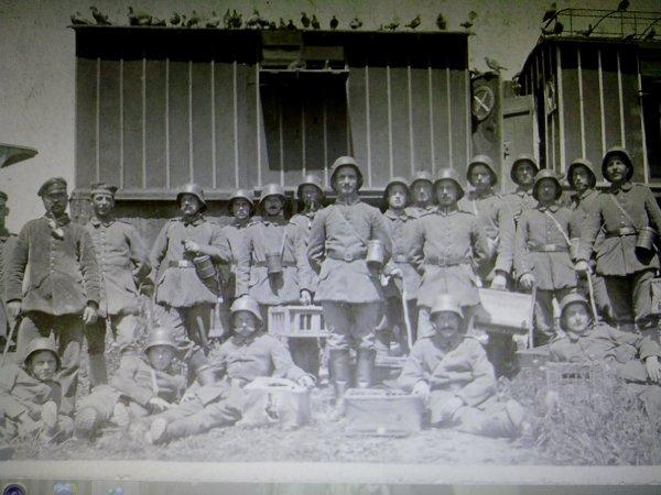 BRIEFTAUBEN STATION WW1