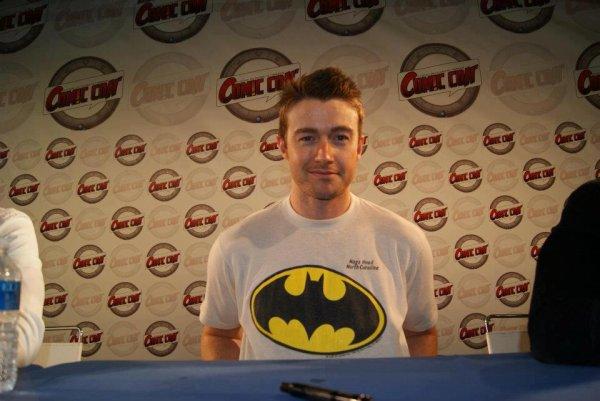 Rob at Comic Con in Paris!