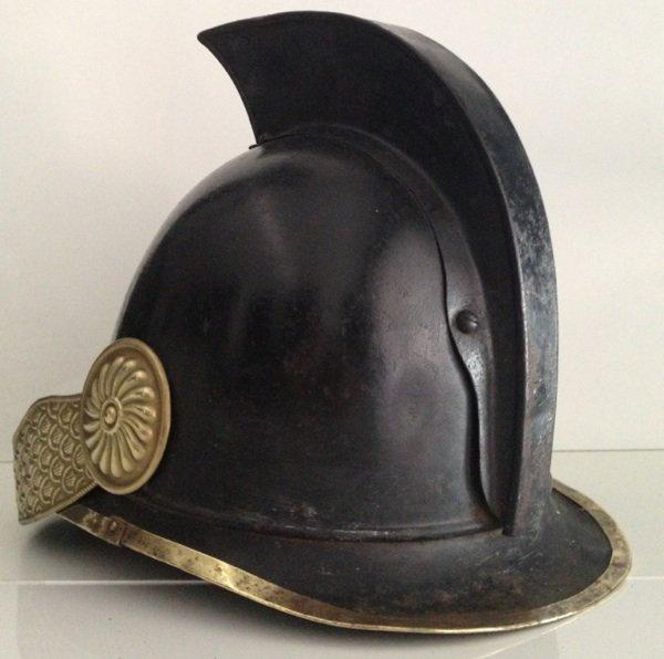 casquette de feu époque 1830
