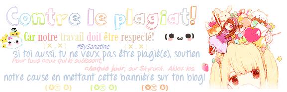 contre le plagiat ♥♡♥