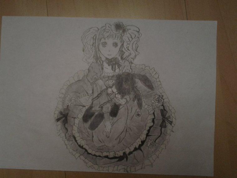 dessin Elizabeth DE MIDFORD dans black butler