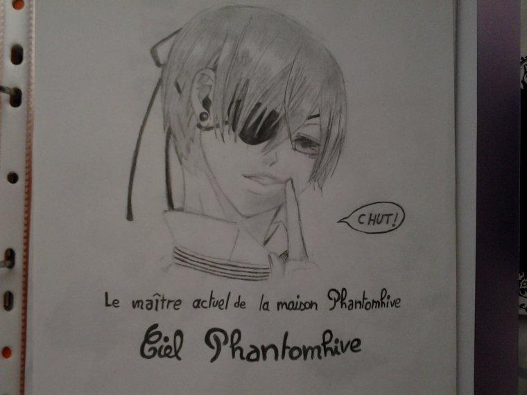 dessin de ciel Phantomhive  ♡♡♡
