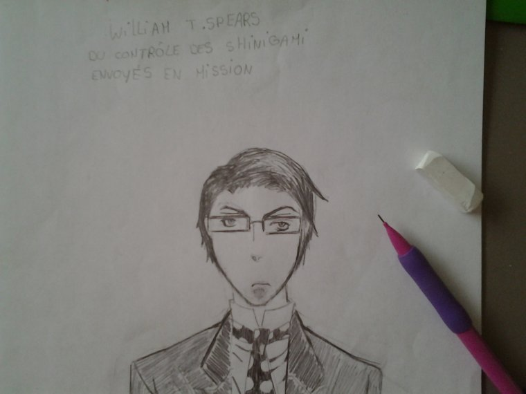 William T . Spears dans black butler