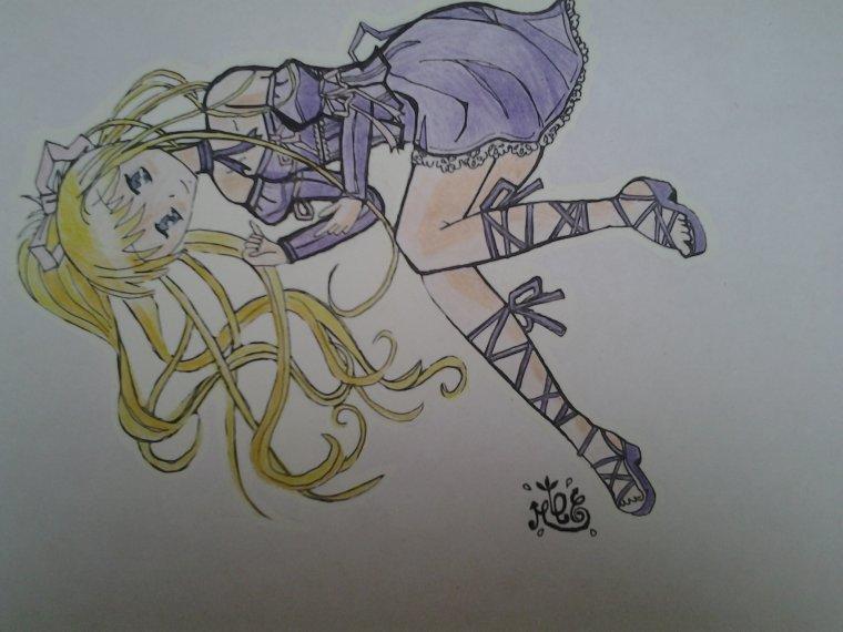 dessin  manga pour ma participation au concours de dessins