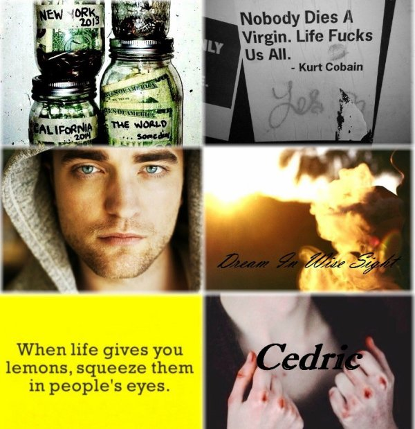 Character Aesthetic : Cedric