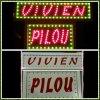 pilou et Vivien a vendre 24 volts