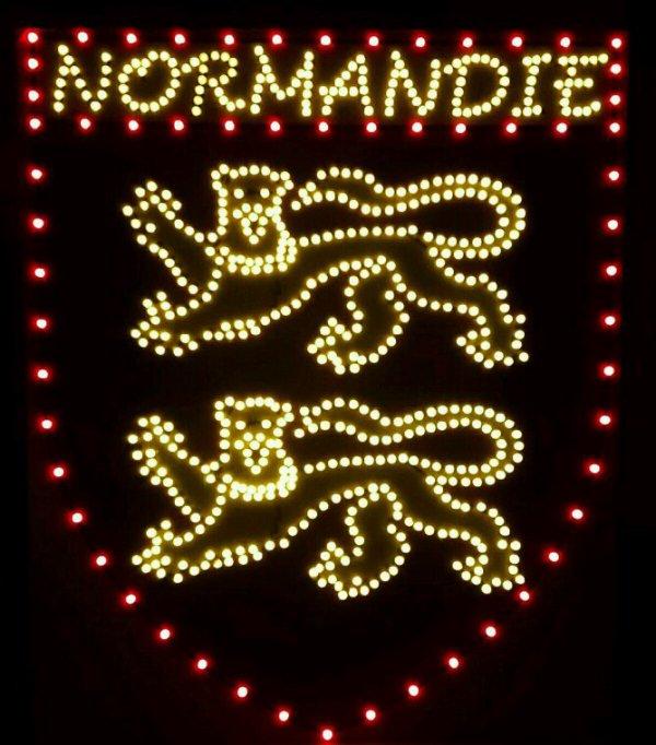 Normandie plaque lumineuse