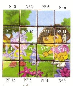 mes recherches Dora cube
