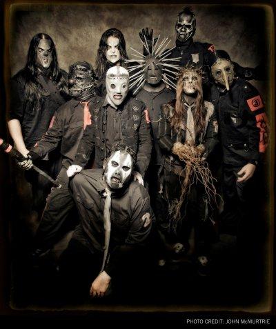 hommage au groupe de slipknot