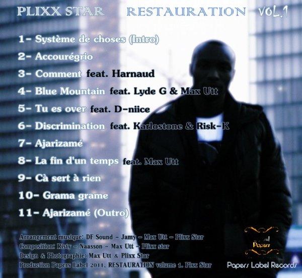 """Télécharger la mixtape """" RESTAURATION"""" volume 1"""