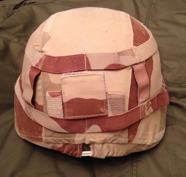 FRENCH SPECTRA HELMET WITH MALI OPERATION COVER