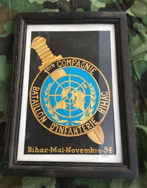 Souvenir 1ère Cie/5ème Régiment d'Infanterie BIHAC 1994