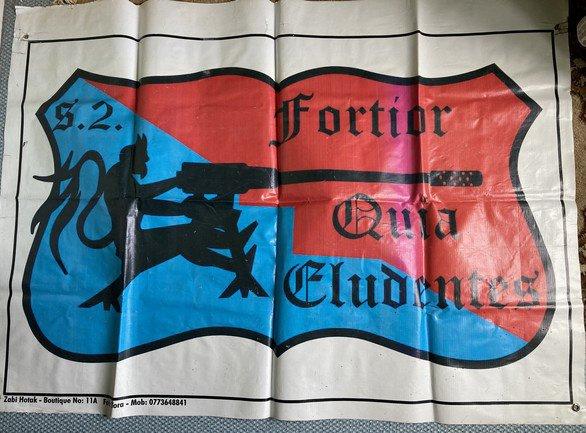 Afghanistan - Bannière du S.2. du 152e Régiment d'Infanterie
