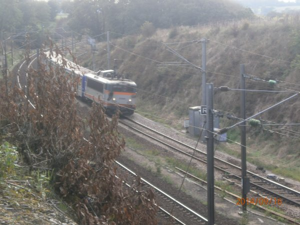 photos de train (ter et tgv) a proximité de la gare de Vitré !