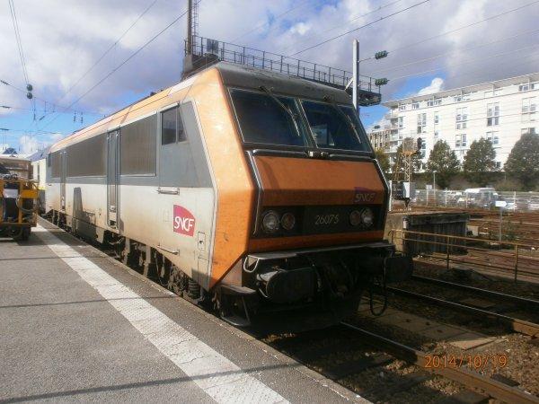 train de la télé en gare de Rennes