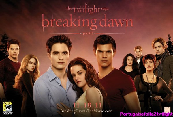 Poster De Breaking Dawn En HQ On Portugaisefolle2twilight ♥.