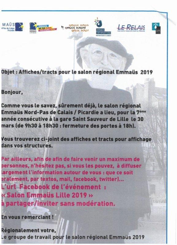 salon emmaus à Lille