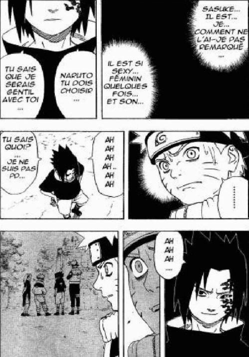 Parodie naruto/sasuke