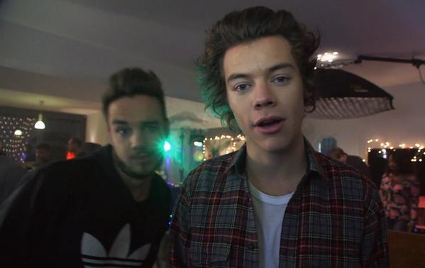 Liam et Harry dans MM