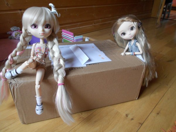 Déballage de ma Pullip-Joy modèle Merl !
