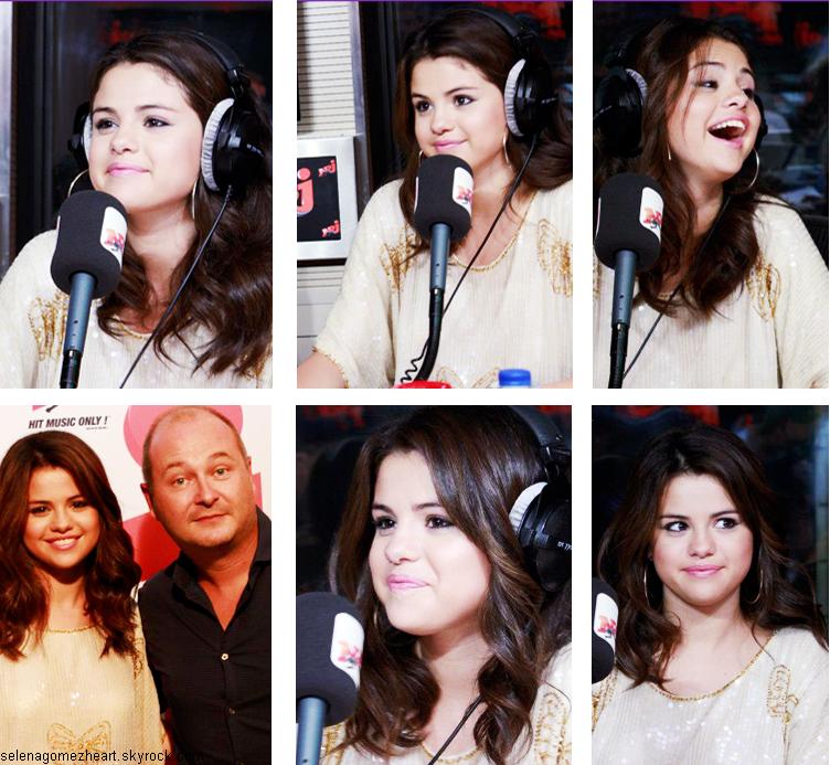 FlashBack.......Voici les photos de Selena quittant son hôtel pour se rendre à la radio NRJ, ce 3 septembre dernier. Elle a pris quelques photos avec ses fans qui l'attendaient.Quelques photos de Selena chez Cauet sur NRJ. Vous pouvez voir son passage radio ici.Enfin, toujours le 3 septembre Selena s'est rendue au restaurant dans Paris.Selena est déjà venue en France au mois de juin, alors c'est l'heure du match !