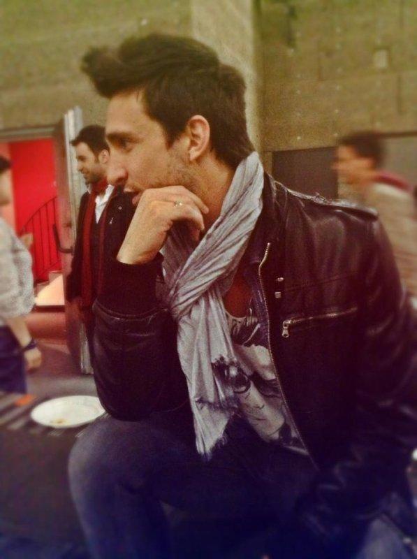 Photo de Benjamin Bocconi après le show ...