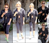 CANDIDS : Le 03/08/13 : Ashley à été aperçue en  allant à son cour de gym.
