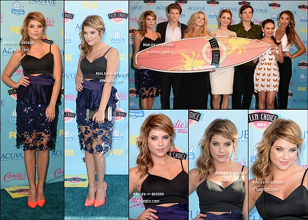EVENTS : Le 11/08/13 : Les Teen Choice Award ! + CANDIDS