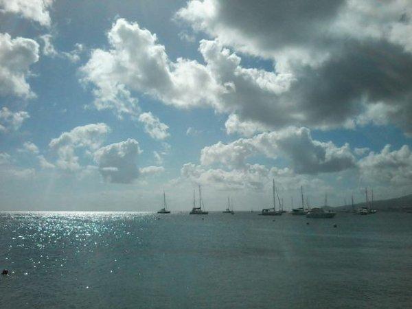 Anse Mitan au Trois-Îlets en Martinique