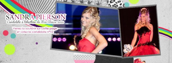 Page de soutien Facebook pour l'élection de Miss Alsace.