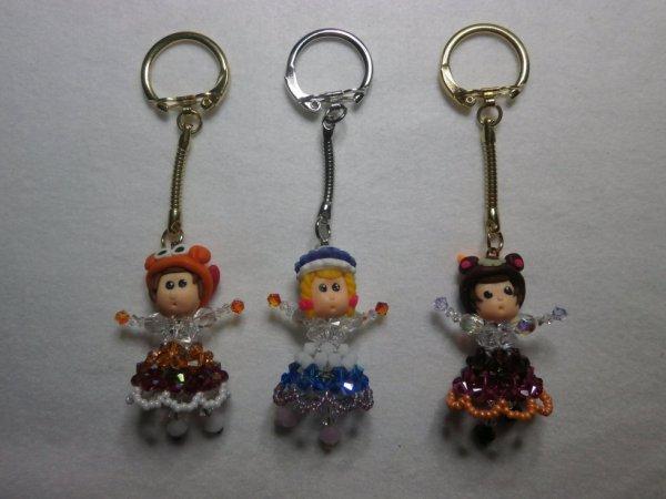 """Portes clés """" dames """"."""