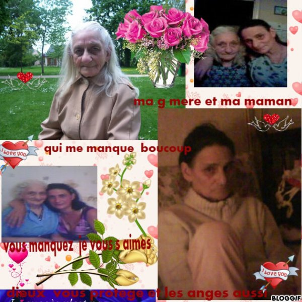 ma maman  et g mere