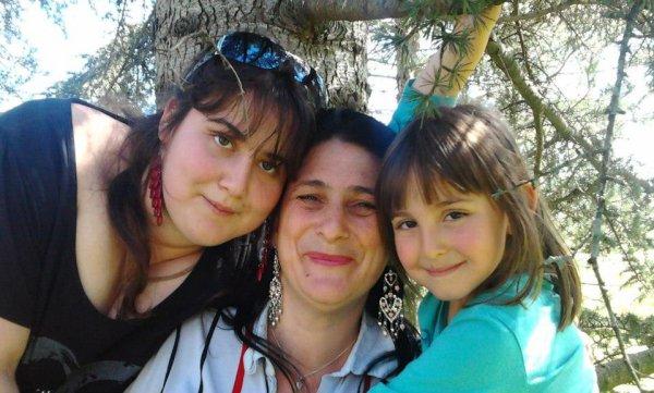 moi et mes deux fille