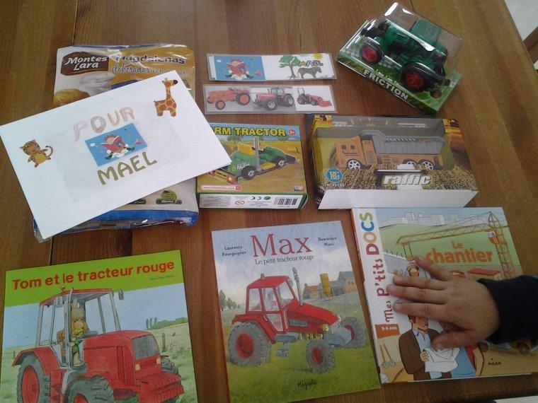 SWAP DES ENFANTS 3° EDITION COLIS DE MAËL